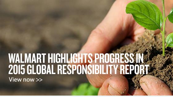 Walmart Global Responsibility Report 2015